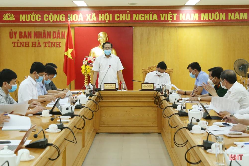 Chủ tịch UBND tỉnh Hà Tĩnh: Tiếp tục vào cuộc chống dịch Covid-19 với trách nhiệm cao nhất