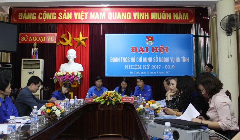 Chi đoàn Sở Ngoại vụ tổ chức thành công Đại hội nhiệm kỳ 2017 - 2019