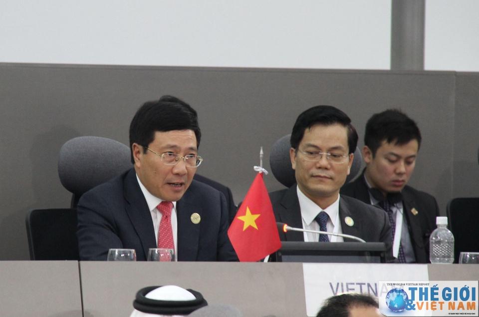 Phát biểu của Phó Thủ tướng Phạm Bình Minh tại Hội nghị Cấp cao lần thứ 17 Phong trào Không liên kết