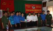 Chi đoàn Sở Ngoại vụ bàn giao Công trình Thanh niên