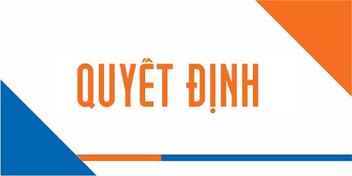 Quyết định tiếp nhận và bố trí công chức của đ/c Nguyễn Thị Hương Giang