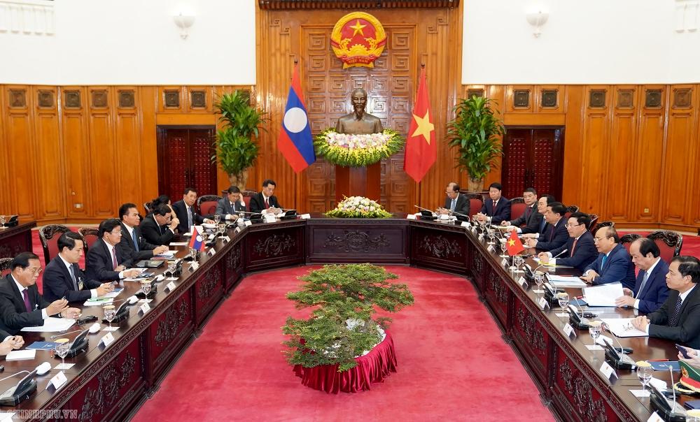 Tuyên bố chung Việt Nam - CHDCND Lào