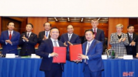 The Agreement between Ha Tinh province and the Czech...