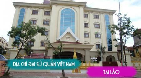 Thông báo của Đại sứ quán Việt Nam tại Lào về việc nhập...